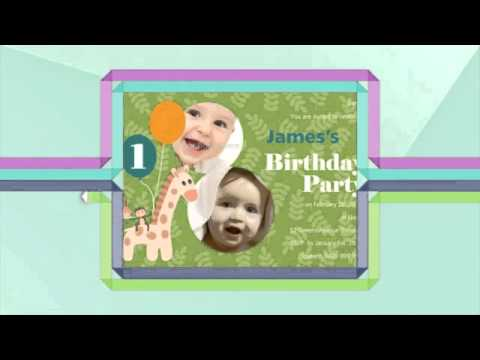 Birthday Invitations for All Ages