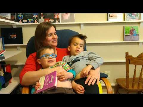 Mommy singing to Blake and Shane