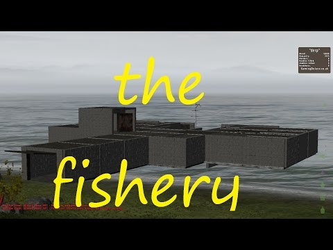 Dayz epoch/overpoch easy not so cheap base build (the fishery)