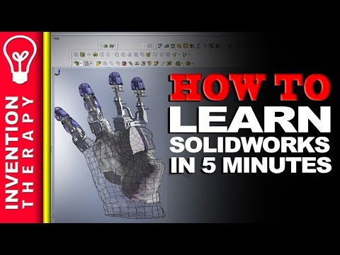 Learn Solidworks In 5 More Minutes! | Solidworks Tutorial Part 2