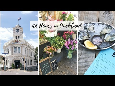 Auckland New Zealand Solo Travel Vlog 🇳🇿 48 Hour Foodie Layover, Free Walking Tour, Airbnb Tour