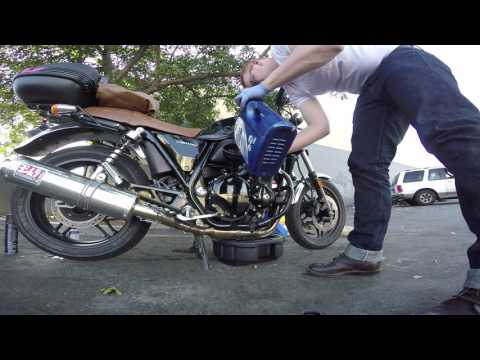 How to: Change the Oil on a Motorcycle