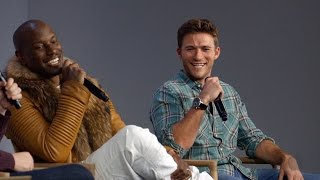 The Fate of the Furious Cast Interview with Tyrese Gibson and Scott Eastwood (Fast and Furious 8)
