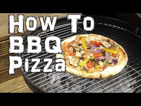 How to BBQ Pizza - Summer Grill Life Hack