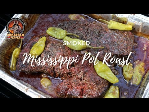 Smoked Mississippi Pot Roast Recipe in the Pit Barrel Cooker
