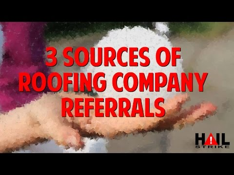 3 Sources of Referral Partners for Your Roofing Company