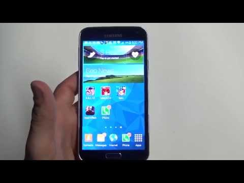 Samsung Galaxy S5 - How To Remove/Delete Widgets - Fliptroniks.com
