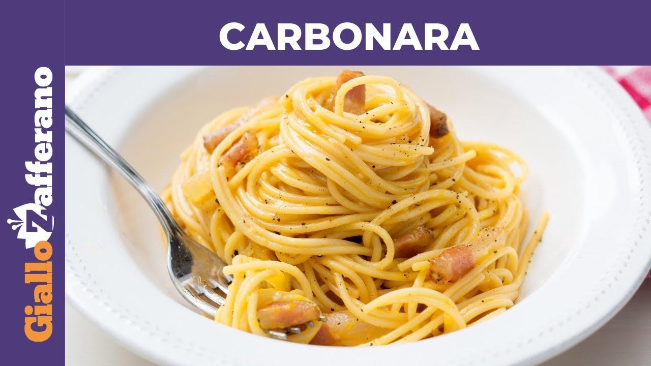 CARBONARA PERFETTA: la ricetta di GialloZafferano