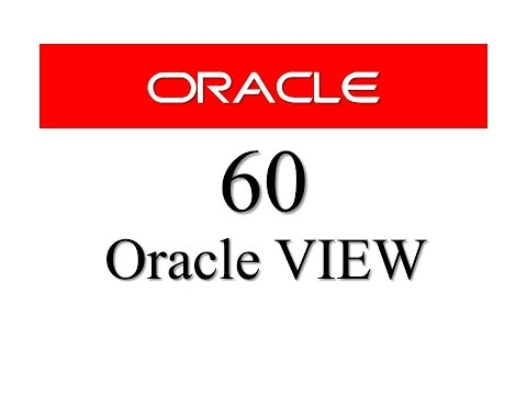 SQL tutorial 60: SQL View in Oracle Database By Manish Sharma RebellionRider