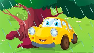 Rain Rain Go Away | Ralph and rocky Cars Cartoon Videos from Kids Tv Channel