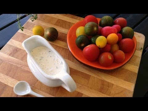 DUDE! RANCH! - Homemade Buttermilk Ranch Dressing Recipe