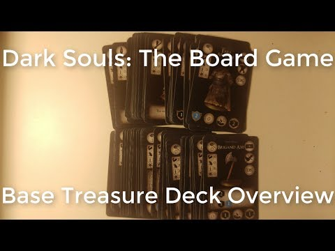 Dark Souls The Board Games: Basic Treasure Deck Overview