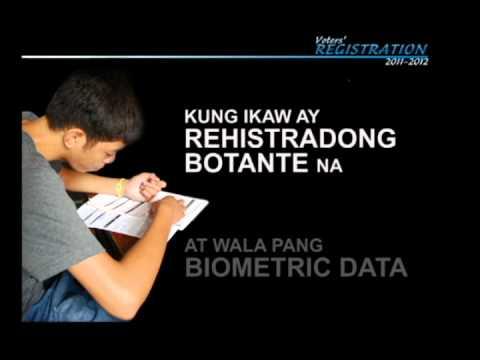 COMELEC Voter Registration Infomercial 3