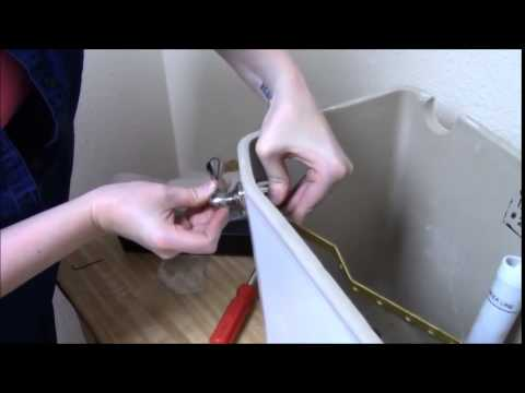 How to Install An Adjustable Toilet Trip Lever