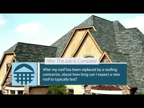 Portland Roof Contractor - How long does new shingles or replacement last?