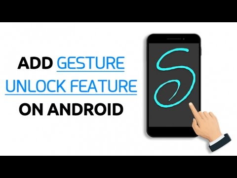 How to add Gesture Unlock Features on Android(No Root)
