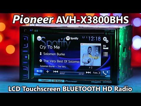 Pioneer AVH-X3800BHS - Demo & Review 2016