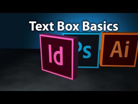 InDesign Text Box Basics