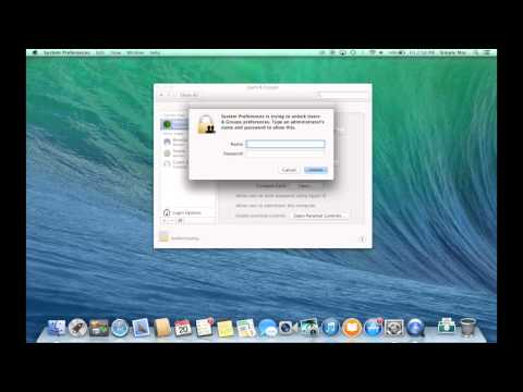 How to setup new user accounts on a Mac