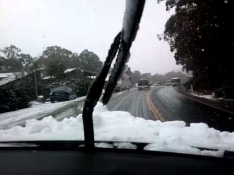 Drive to Thredbo August 2011