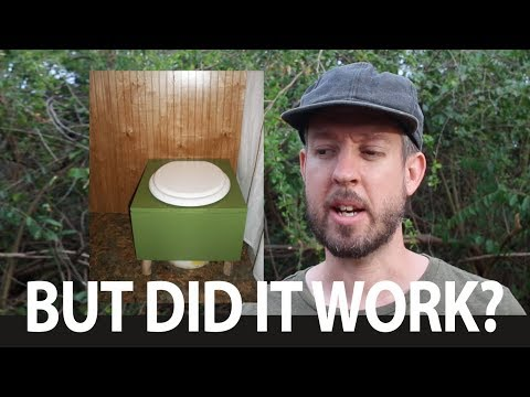 We used a simple composting toilet system for a whole year (and here's how it worked out)