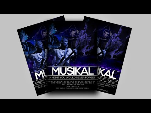 HOW TO MAKE A MUSICAL EVENT POSTER IN PHOTOSHOP FORM SCRAP!!! , TUTORIAL 1!!