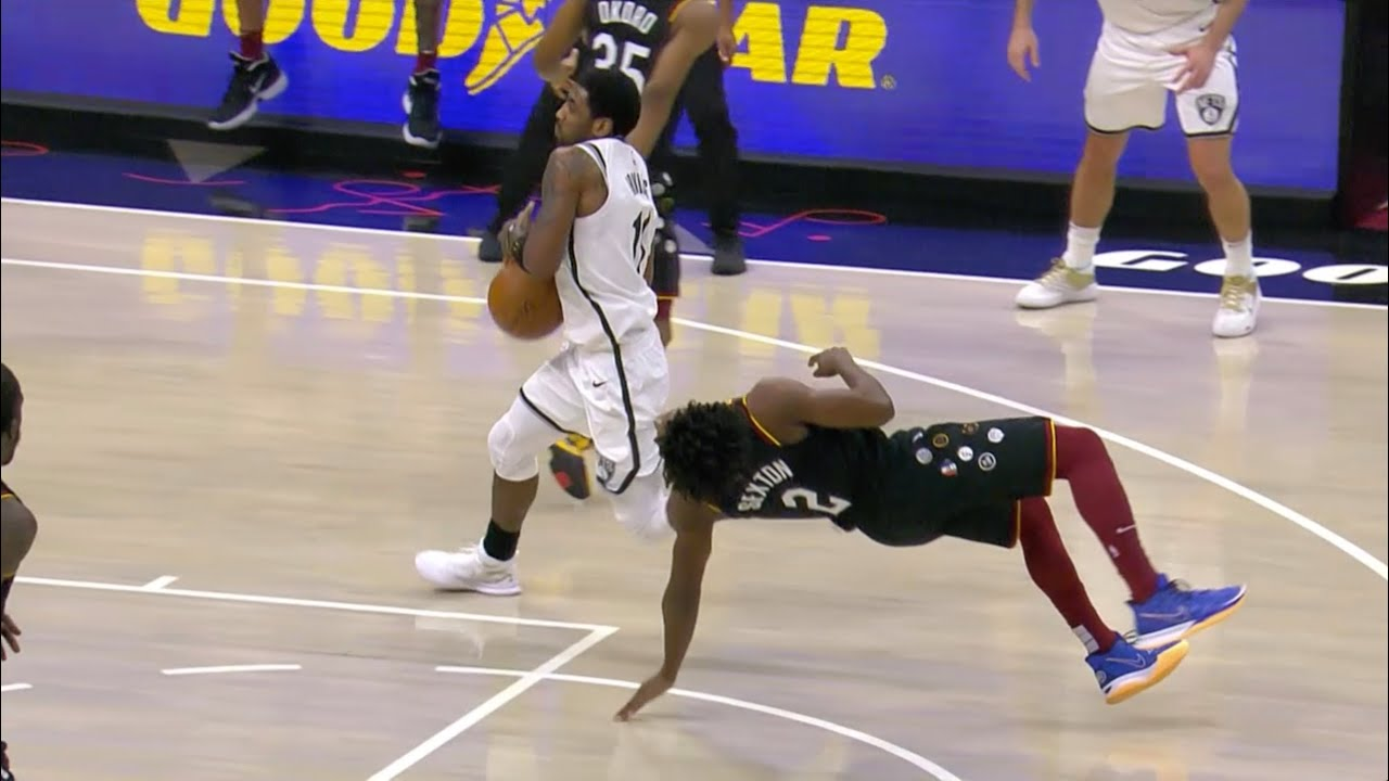 Collin Sexton and Kyrie Irving Both Laugh After Last Minute Foul Call Leads To Overtime