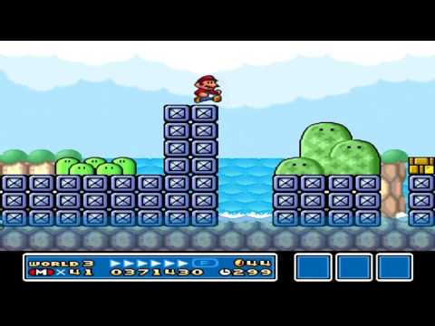Let's Play! - Super Mario Bros. 3 (All-Stars) Episode 2: He Eats Me!