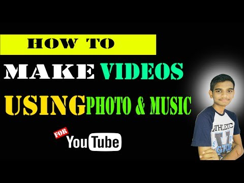 How to Make Video With Pictures and Music in Youtube video Editor - Tamil Tech Kid