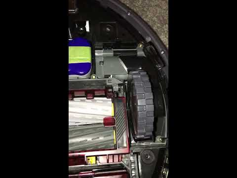 Roomba 880 5 Left wheel Error Pt. 1