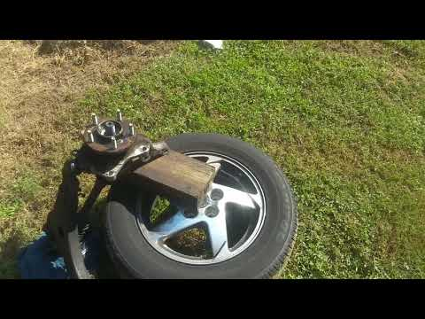 Cv axle seized stuck how to remove