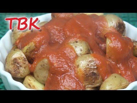 How to Make Patatas Bravas - Titli's Busy Kitchen