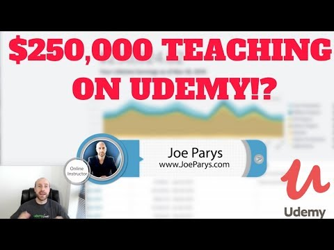 How To Make Money Online! $250,000 Teaching On Udemy!
