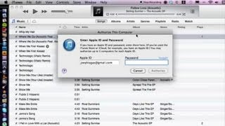 How To Authorize Your Computer For Itunes Itunes Help