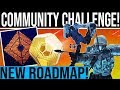 Destiny 2 SEPTEMBER COMMUNITY CHALLENGE REVEAL Exclusive Reward Updated Roadmap Solar Week
