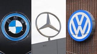 Еврокомиссия обвиняет Vw Group, Bmw и Daimler в сговоре