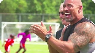 FAST & FURIOUS 8 Production Trailer: Soccer Coach Dwayne Johnson (2017) Behind the Scenes