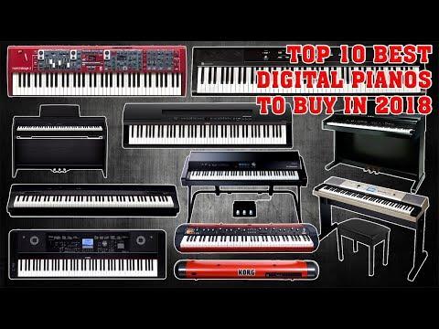 Top 10 Best Digital Pianos to buy in 2018