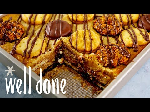 7-Layer Girl Scout Cookie Layer Bars To Have Them All | Recipe | Well Done