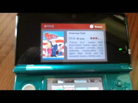 First Look | Netflix for 3DS