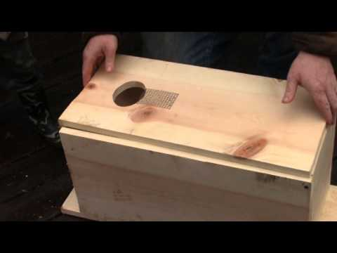 how to make a wood duck box