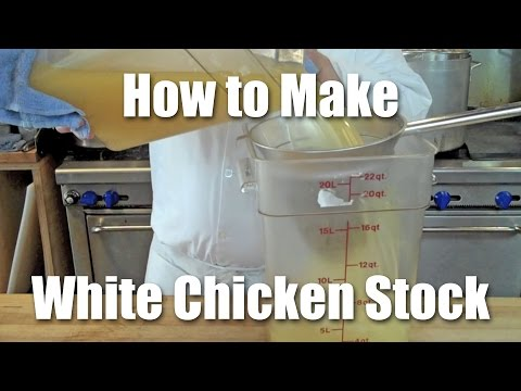 How to Make White Chicken Stock