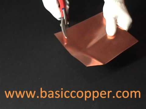 Copper Sheet Thickness Guide 22 Mil (16 ounce copper)