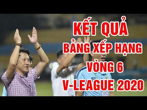Kết quả vòng 6 V-League 2020   Bảng xếp hạng V-League 2020 mới nhất
