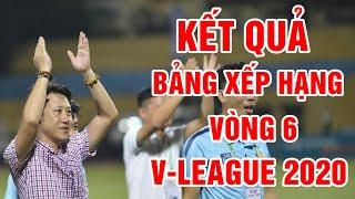 Kết quả vòng 6 V-League 2020 | Bảng xếp hạng V-League 2020 mới nhất