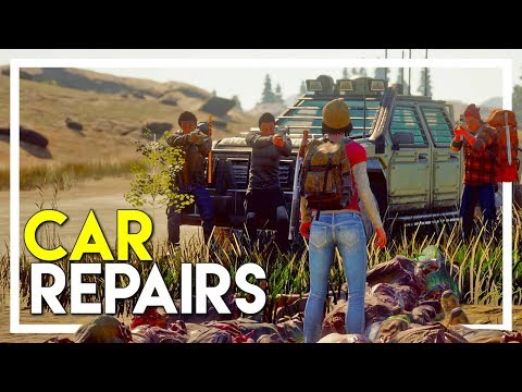 State of Decay 2 Gameplay Walkthrough - Part 2: How to Repair a Car! (PC/XBOX One)