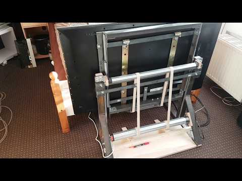 Eigenbau TV Lift DIY Homemade TV-Lift