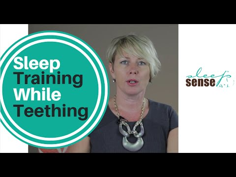 Sleep Training While Teething