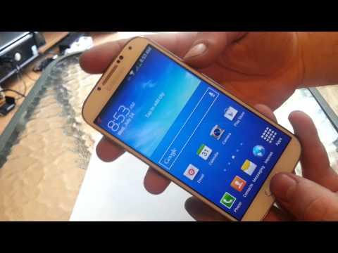 Samsung Galaxy s4 Screen Shot Metro pcs