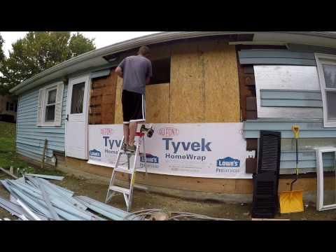 Rebuilding My Rotten Back Wall